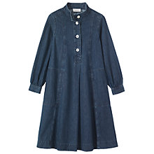 Buy Toast Denim Leila Dress, Indigo Online at johnlewis.com