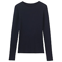 Buy Toast Skinny Rib Merino Wool Jumper Online at johnlewis.com