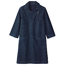 Buy Toast Artist Denim Tunic Dress, Indigo Online at johnlewis.com