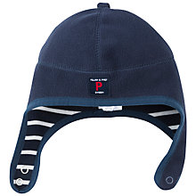 Buy Polarn O. Pyret Baby Fleece Hat, Blue Online at johnlewis.com