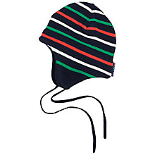 Buy Polarn O. Pyret Baby Soft Striped Hat Online at johnlewis.com
