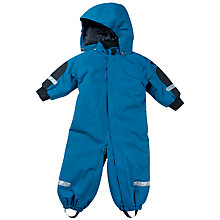 Buy Polarn O. Pyret Baby All-Weather Bodysuit, Blue Online at johnlewis.com