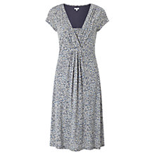 Buy Jigsaw Confetti Fit And Flare Dress, Almond Online at johnlewis.com