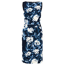 Buy Sugarhill Boutique Tegan V Back Shift Dress, Navy Online at johnlewis.com