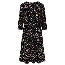 Buy Sugarhill Boutique Cate Heart Print Dress, Black Online at johnlewis.com