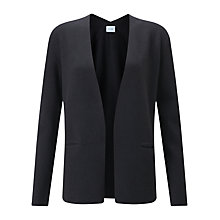 Buy Jigsaw Wool Knit Blazer, Smoke Online at johnlewis.com