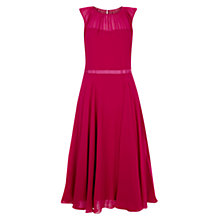 Buy Hobbs Stephanie Dress, Crushed Berry Online at johnlewis.com