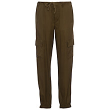 Buy French Connection Military Trousers, Dark Olive Night Online at johnlewis.com