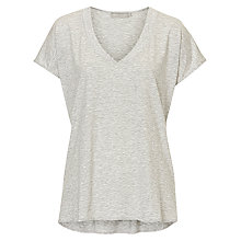 Buy Betty Barclay V Neck Top, Grey Online at johnlewis.com