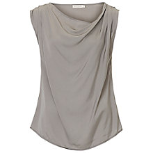 Buy Betty & Co. Cowl Neck Shell Top, Grey Cloud Online at johnlewis.com