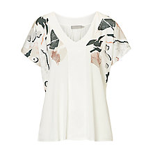 Buy Betty & Co. Printed Top, White/Multi Online at johnlewis.com