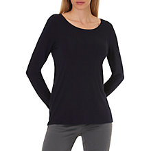 Buy Betty & Co. Long Sleeve T-Shirt, Dark Sapphire Online at johnlewis.com