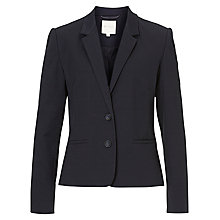 Buy Betty & Co. Textured Blazer, Dark Sapphire Online at johnlewis.com