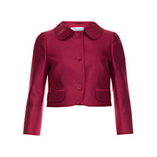 Buy Hobbs Christiana Jacket, Crushed Berry Online at johnlewis.com