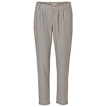 Buy Betty & Co. Loose Fit Textured Trousers, Grey Melange Online at johnlewis.com