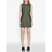 Buy French Connection City Camo Sleeveless Dress, Olive Night Multi Online at johnlewis.com