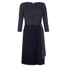 Buy Hobbs Tanya Dress, Navy/Multi Online at johnlewis.com