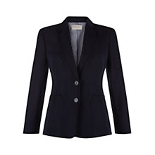 Buy Hobbs Daisy Jacket, Navy Online at johnlewis.com
