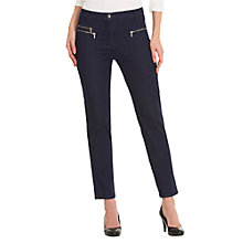 Buy Betty Barclay Cotton Stretch Jeans, Deep Blue Denim Online at johnlewis.com