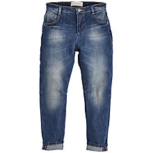 Buy Angel & Rocket Boys' Mid Wash Denim Jeans, Blue Online at johnlewis.com