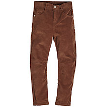 Buy Angel & Rocket Boys' Trousers, Brown Online at johnlewis.com