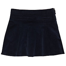 Buy Jigsaw Girls' Fine Cord Skirt, Navy Online at johnlewis.com