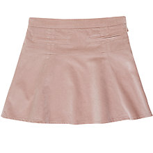 Buy Jigsaw Girls' Moleskin Stretch Skirt, Pale Pink Online at johnlewis.com