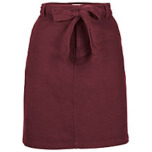 Buy Fat Face Tilly Tie Chino Skirt Online at johnlewis.com