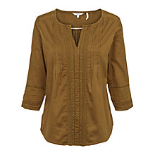 Buy Fat Face Victoria Pretty Popover Blouse Online at johnlewis.com