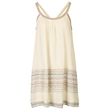 Buy Fat Face Halle Swing Dress, Ivory Online at johnlewis.com