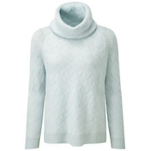 Buy Pure Collection Daniella Luxury Cashmere Jumper, Aqua Online at johnlewis.com