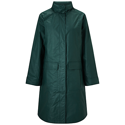 Four Seasons 3/4 Length Funnel Neck Coat