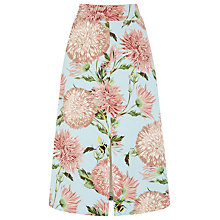 Buy Warehouse Pom Pom Print Skirt Online at johnlewis.com