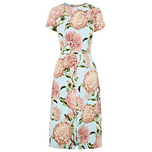Buy Warehouse Pom Pom Floral Print Dress, Multi Online at johnlewis.com