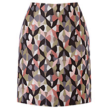 Buy Warehouse Diamond Ikat Pelmet Skirt, Multi Online at johnlewis.com