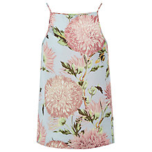 Buy Warehouse Pom Pom Print Camisole, Pink Pattern Online at johnlewis.com