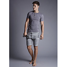 Buy Hamilton and Hare Jersey Sweat Shorts, Grey Online at johnlewis.com