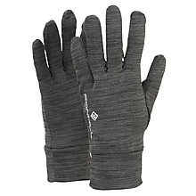 Buy Ronhill Victory Running Gloves, Grey Marl Online at johnlewis.com