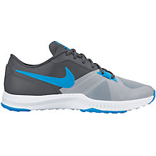Buy Nike Air Epic Speed Low Top Men's Cross Trainers, Wolf Grey/Blue Glow Online at johnlewis.com