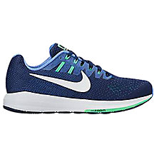 Buy Nike Air Zoom Structure 20 Men's Running Shoes, Binary Blue/Hyper White Online at johnlewis.com