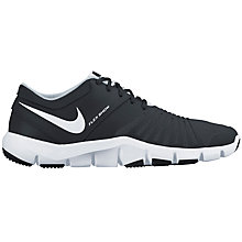 Buy Nike Flex Show TR 5 Men's Cross Trainers, Black/White Online at johnlewis.com