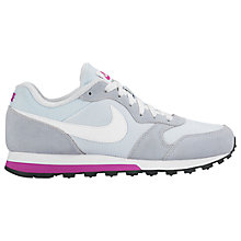 Buy Nike MD Runner 2 Women's Trainers, Blue Tint/White/Hyper Violet Online at johnlewis.com