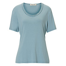 Buy Betty Barclay Short Sleeve T-shirt, Blue Dust Online at johnlewis.com