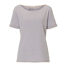 Buy Betty Barclay Striped T-Shirt, Camel/Blue Online at johnlewis.com