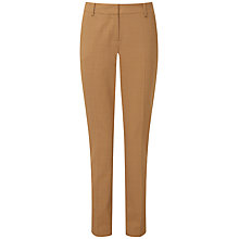 Buy Pure Collection Kayleigh Slim Leg Trousers, Camel Melange Online at johnlewis.com