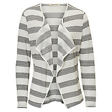 Buy Betty Barclay Striped Cardigan, Cream/Grey Online at johnlewis.com