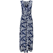 Buy Pure Collection Halstead Jersey Maxi Dress, Bamboo Print Online at johnlewis.com