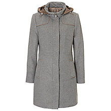 Buy Betty Barclay Sporty Coat, Grey Taupe Online at johnlewis.com