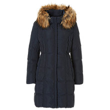 Buy Betty Barclay Quilted Coat, Deep Navy Online at johnlewis.com
