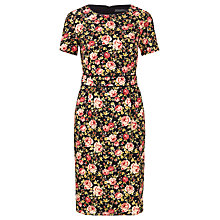 Buy Sugarhill Boutique Livana Floral Vintage Shift Dress, Black Online at johnlewis.com